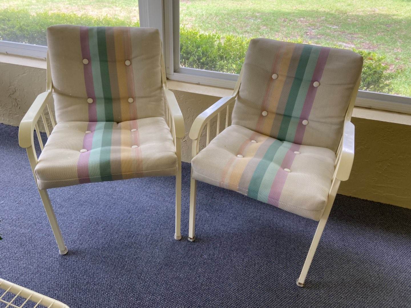 Lot # 357 (2) Patio Chairs