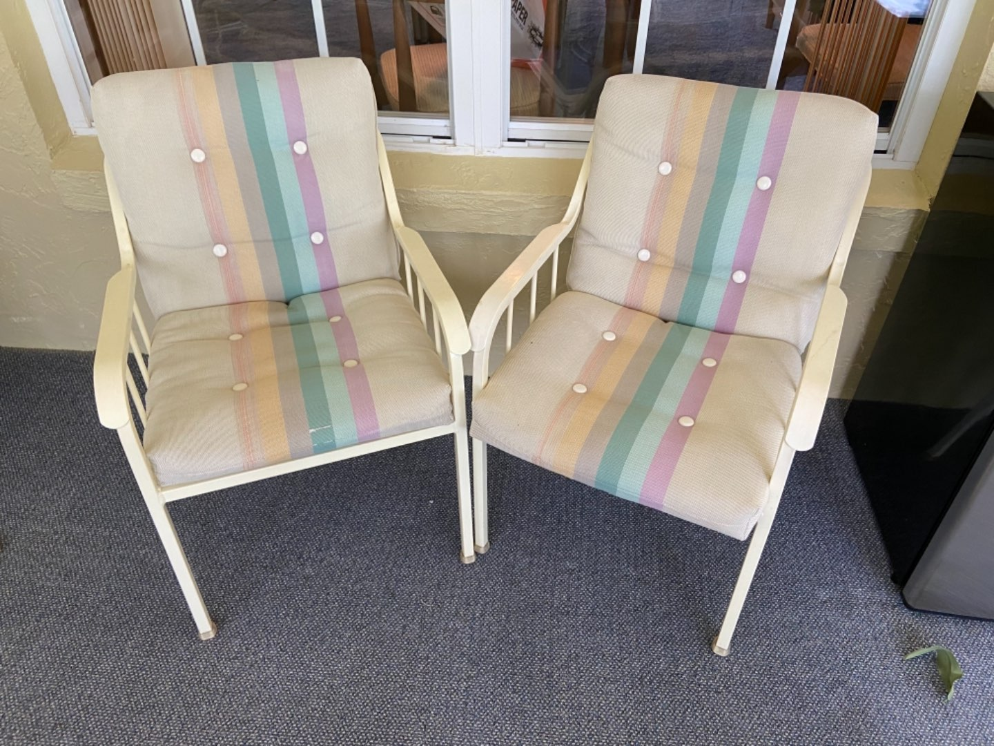 Lot # 368 (2) Patio Chairs
