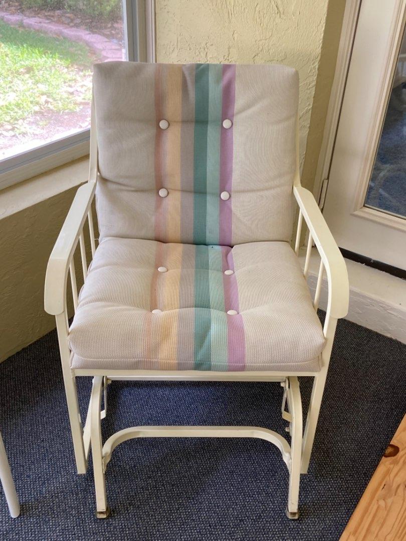 Lot # 369 Patio Gliding Chair