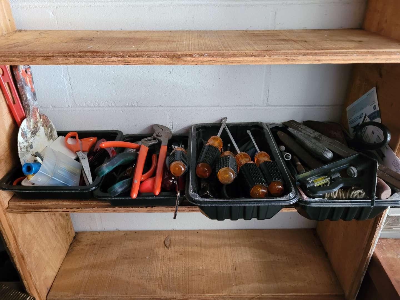 Lot # 400 Screwdrivers, Pliers, Scissors & More