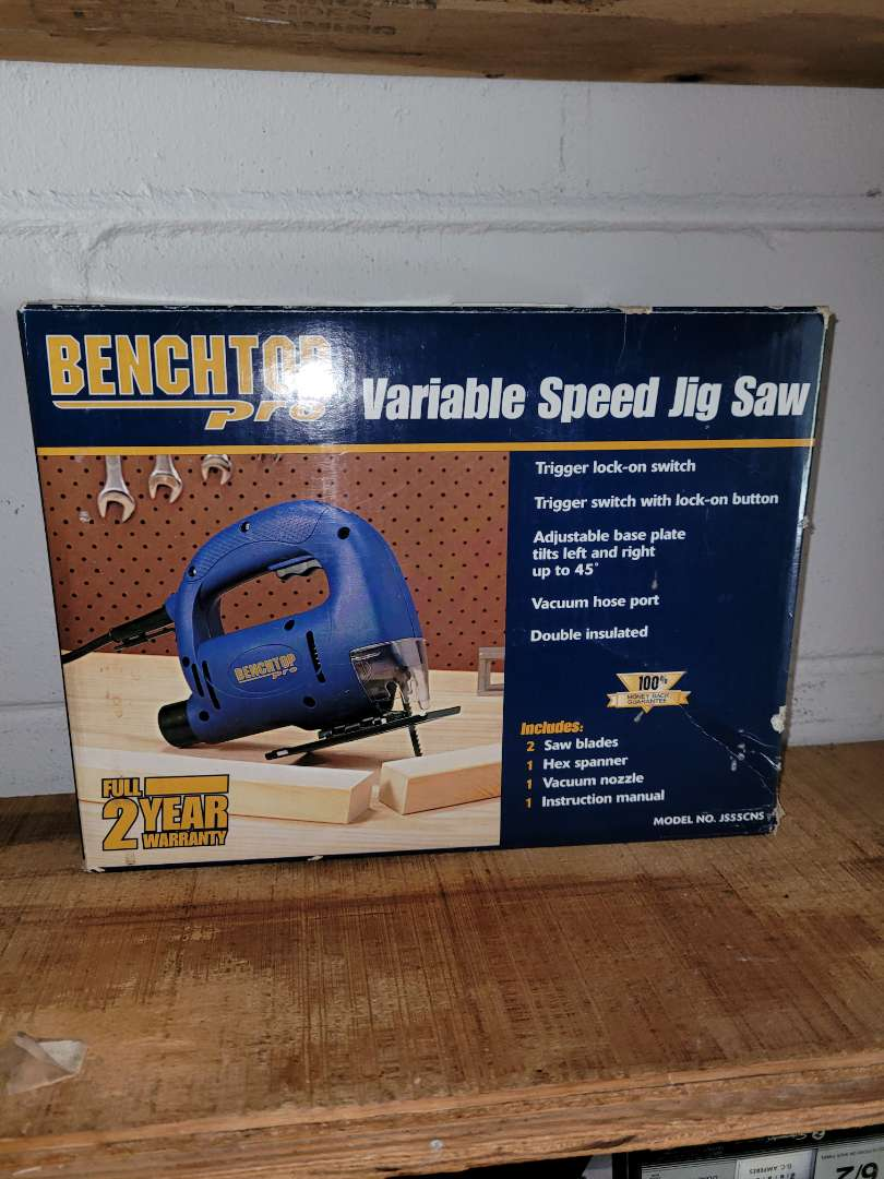 Lot # 406 Benchtop Pro Variable Jig Saw