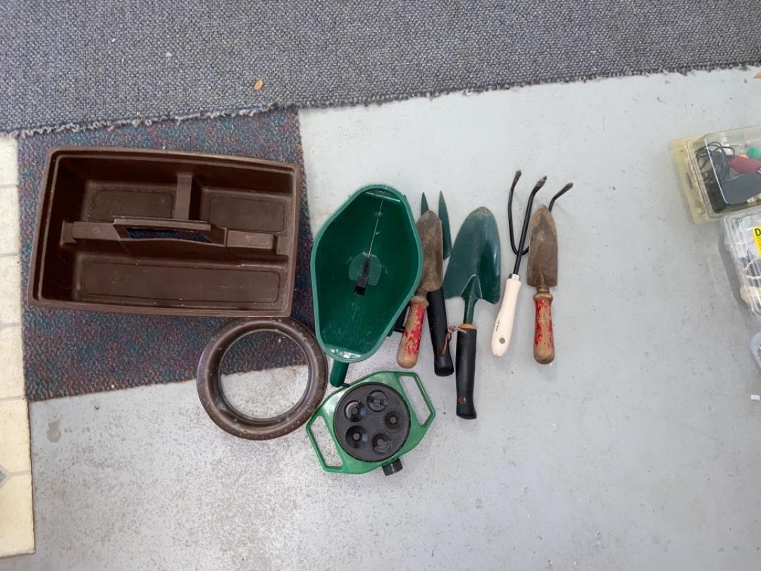 Lot # 419 Garden Tools