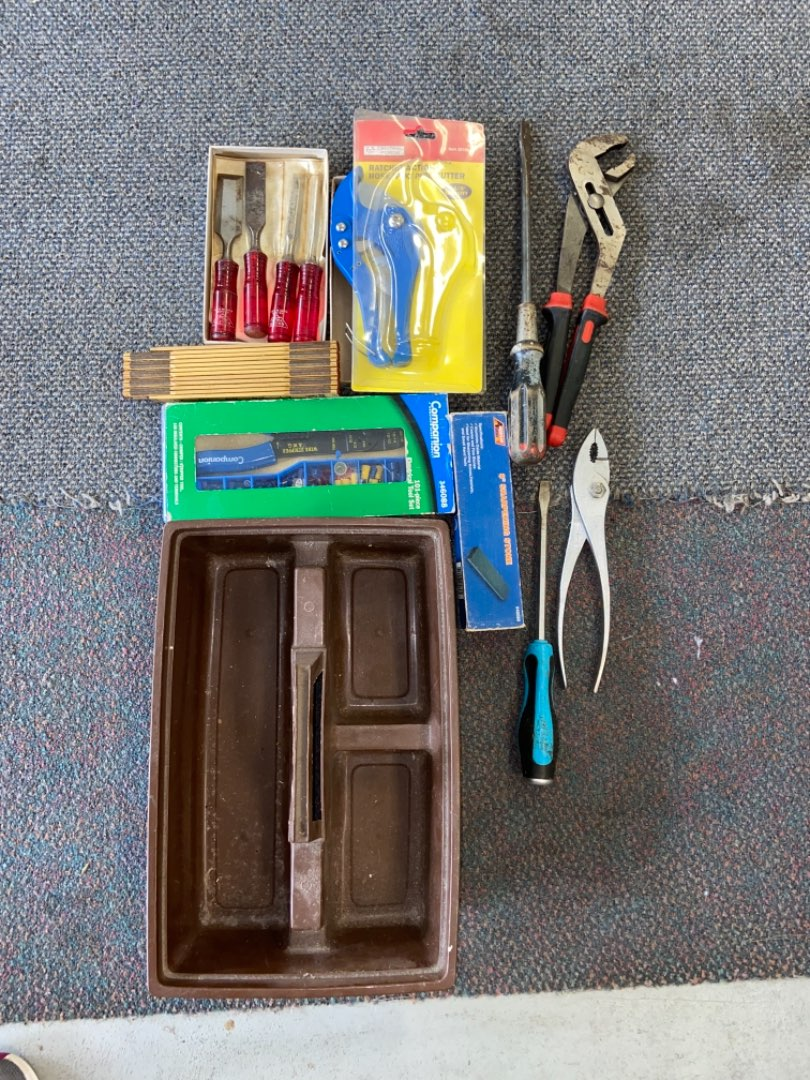 Lot # 442 Chisels, Tools & More