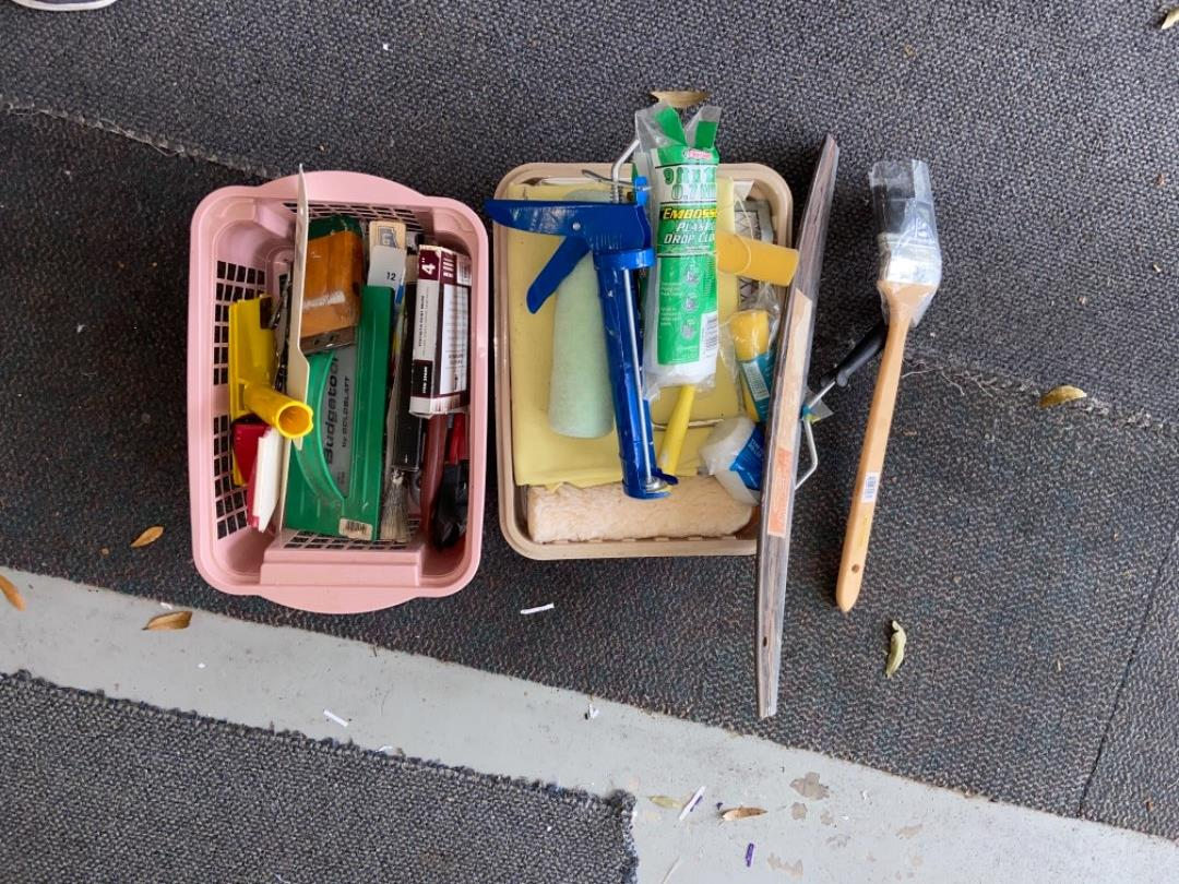 Lot # 446 Painting Supplies
