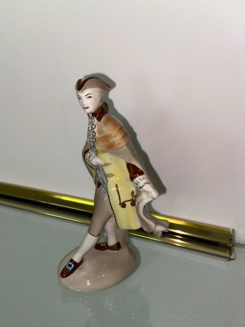 Lot # 451 Vtg Goldscheider Everlast Figurine Prince of Wales Figurine by Peggy Porcher