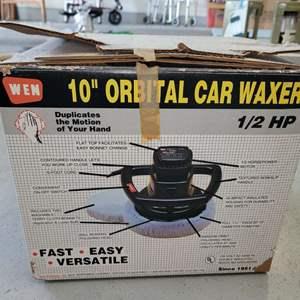 """Lot # 470 10"""" Orbital Car Waxer"""