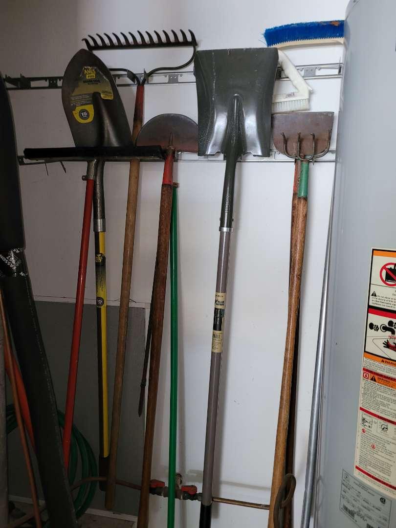 Lot # 471 Shovel, Rakes & More