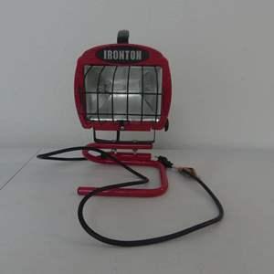 Lot #174 Ironton 500 Watt Halogen Portable Work Light