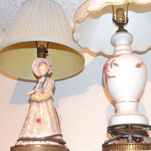Lot # 26 TWO LAMPS