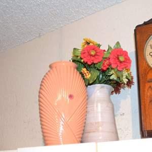 Lot # 28 TWO FLOWER VASES