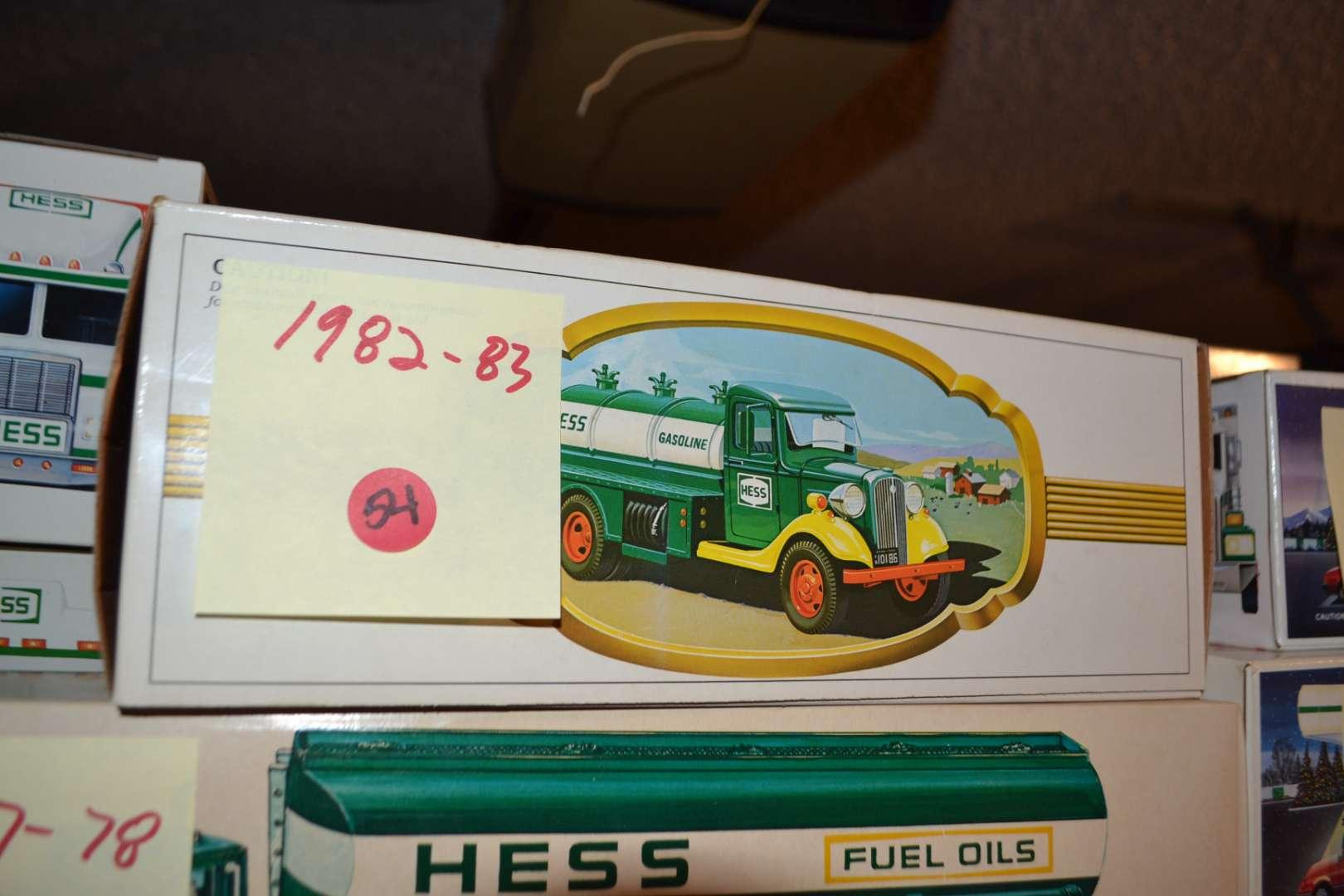 Lot # 54 1982-83 HESS TRUCK NIB