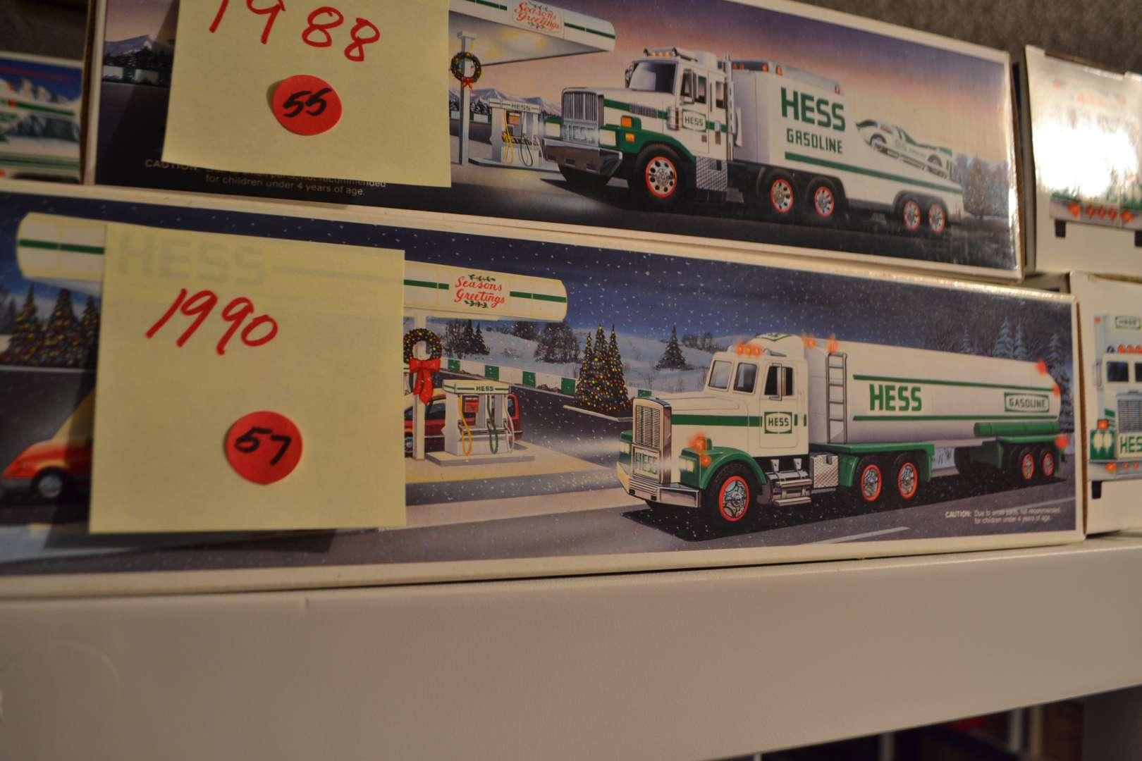 Lot # 57 1990 HESS TRUCK NIB