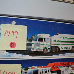 Lot # 58 1999 HESS TRUCK NIB