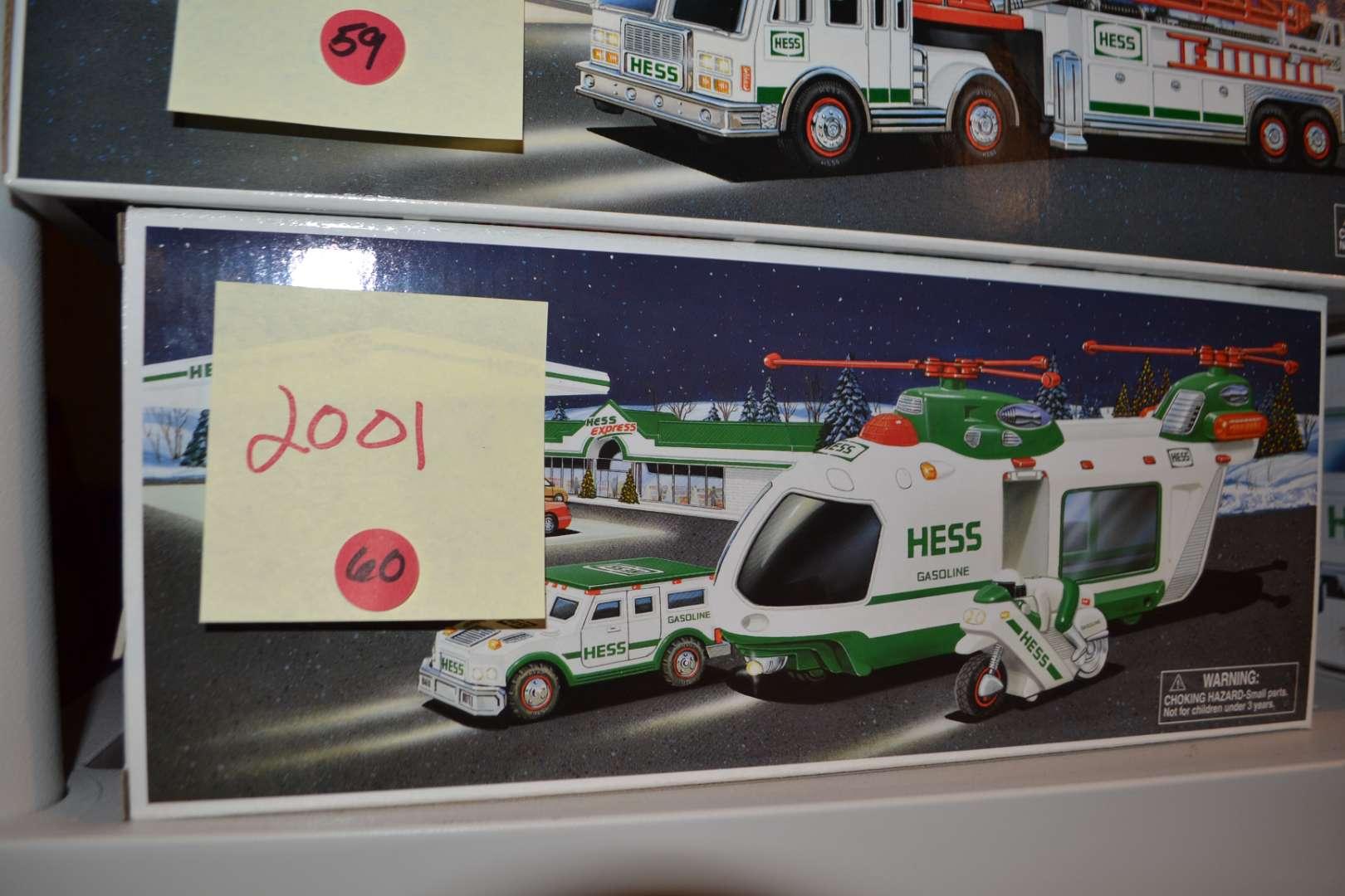 Lot # 60 2001 HESS TRUCK NIB