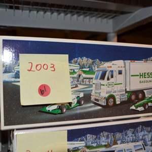 Lot # 61 2003 HESS TRUCK NIB
