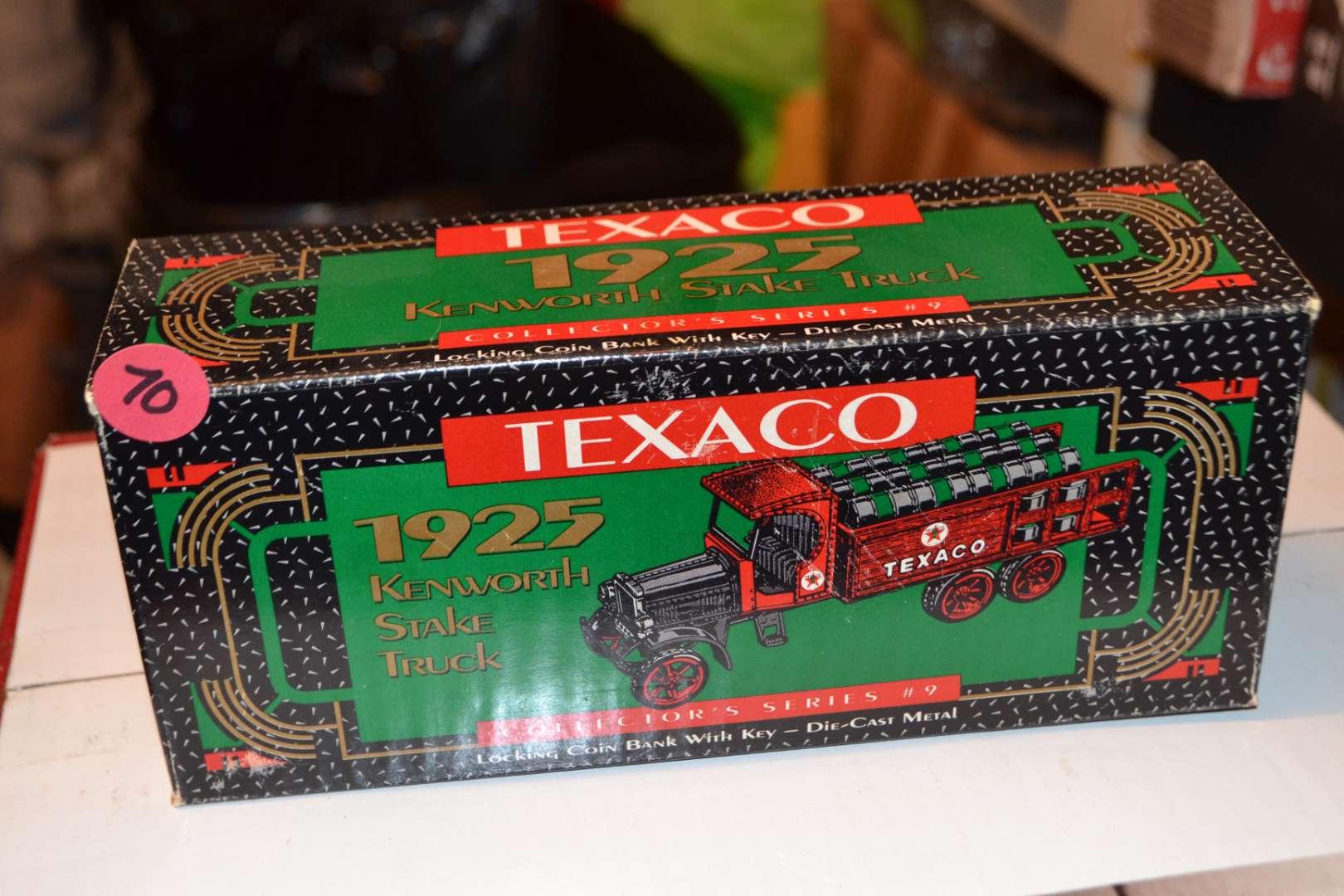 Lot # 70 TEXACO TRUCK