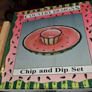 Lot # 78 CHIP & DIP SET