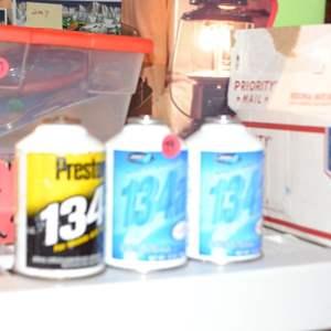 Lot # 79 R 134A REFRIGERANT 3 CANS