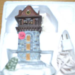 Lot # 82 NORMAN ROCKWELL LIGHTED BELL TOWER