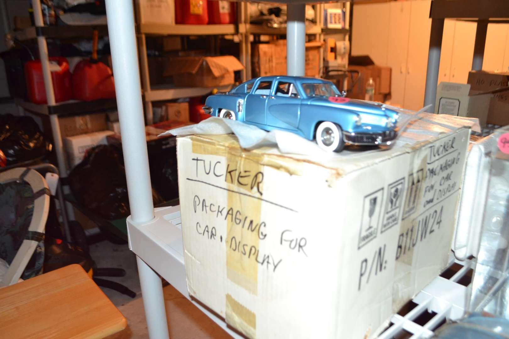 Lot # 93 TUCKER CAR WITH PLASTIC DISPLAY BOX