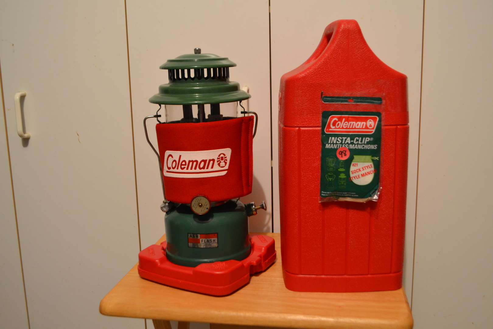 Lot # 98 COLEMAN LANTERN WITH FUEL