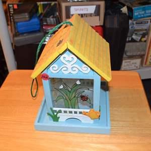 Lot # 102 BIRD HOUSE