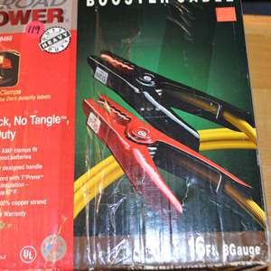 Lot # 119 BOOSTER CABLES