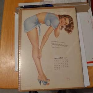 Lot # 146 VINTAGE VARGA GIRL NOVEMBER 1948