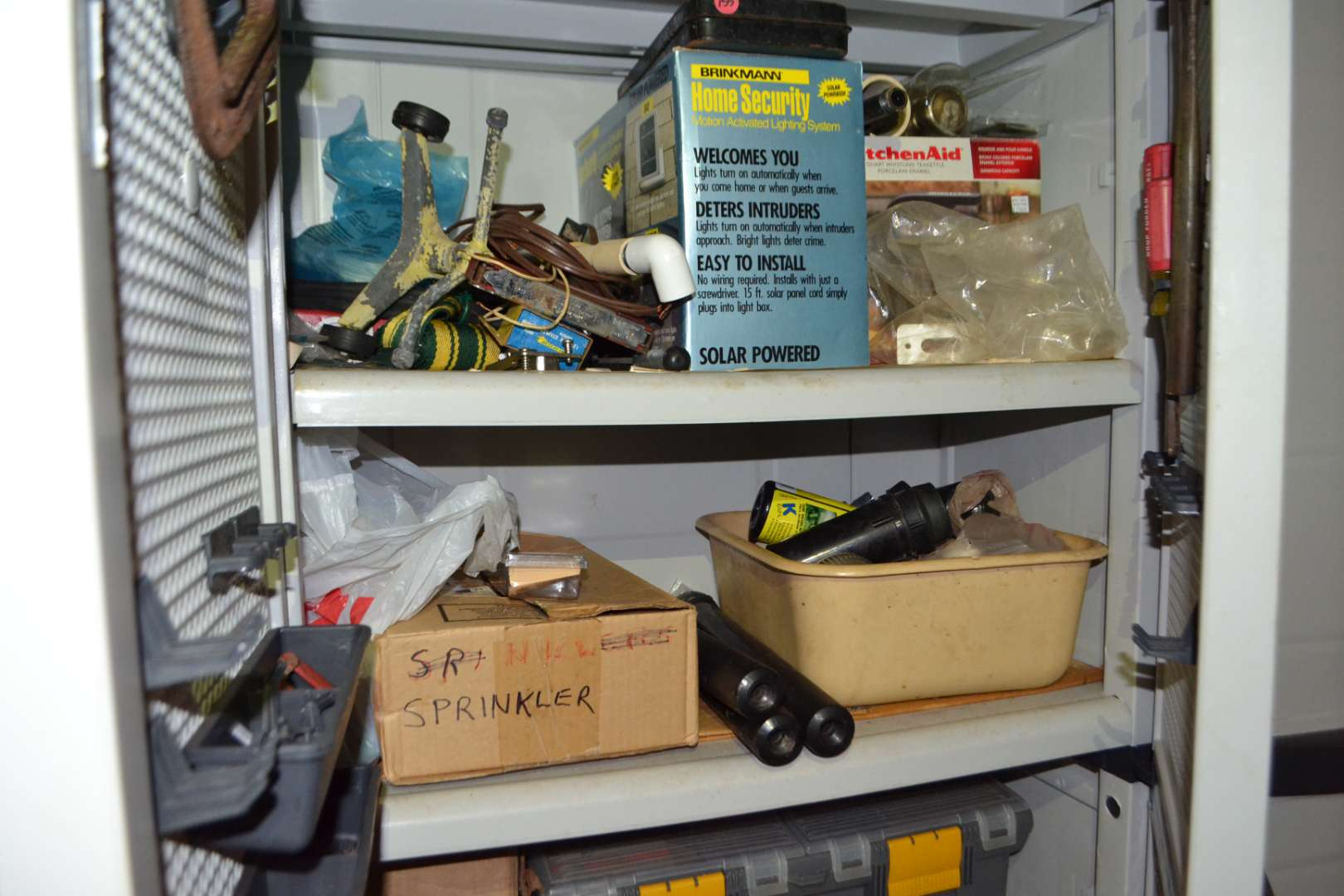 Lot # 154 CONTENTS OF CABINET