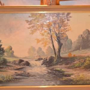 Lot # 179 FRAMED ART 28 X 40