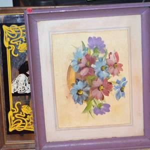 Lot # 187 FRAMED ART 17 X 20