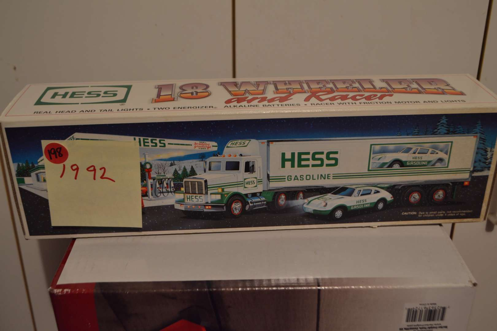 Lot # 198 HESS TRUCK 1992