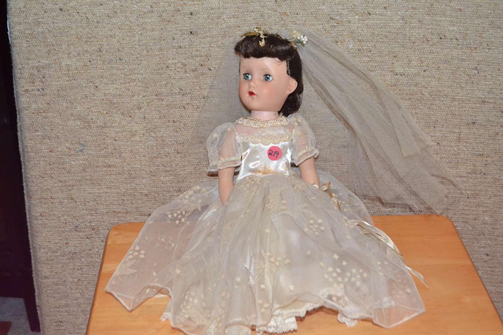 Lot # 219 VINTAGE DOLL BRIDE
