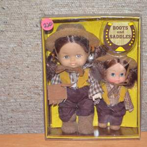 Lot # 220 BOOTS & SADDLES BY UNEEDA