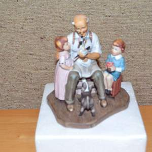 """Lot # 310 NORMAN ROCKWELL """"THE TOY MAKER"""" 1980"""