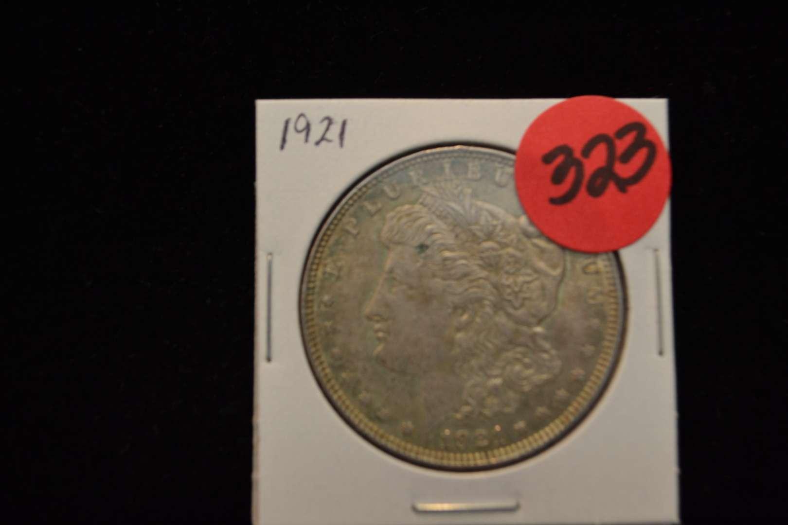 Lot # 323 1921 MORGAN SILVER DOLLAR