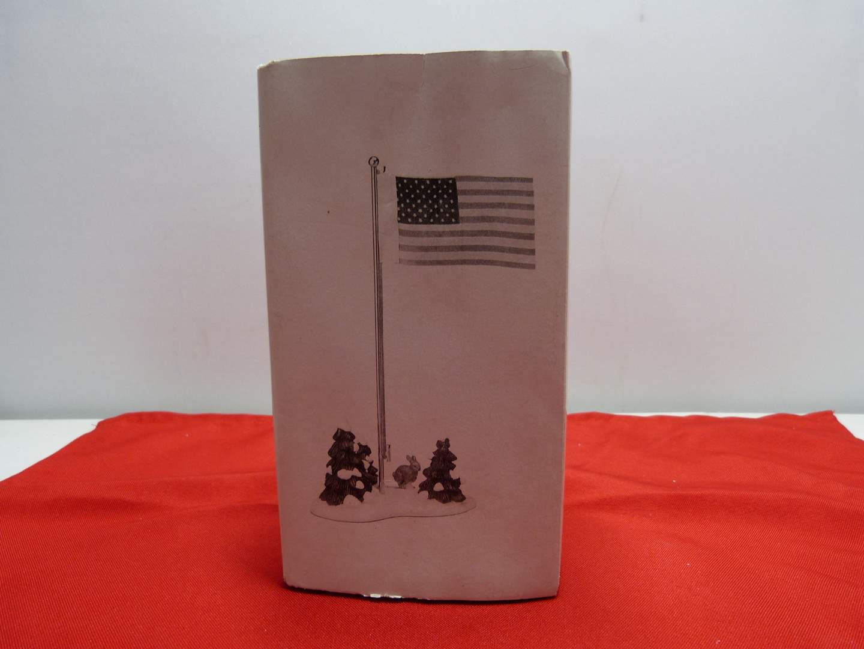 "Lot # 16  Dept 56 accessory ""Village Flag Pole"" (perfect condition) (main image)"