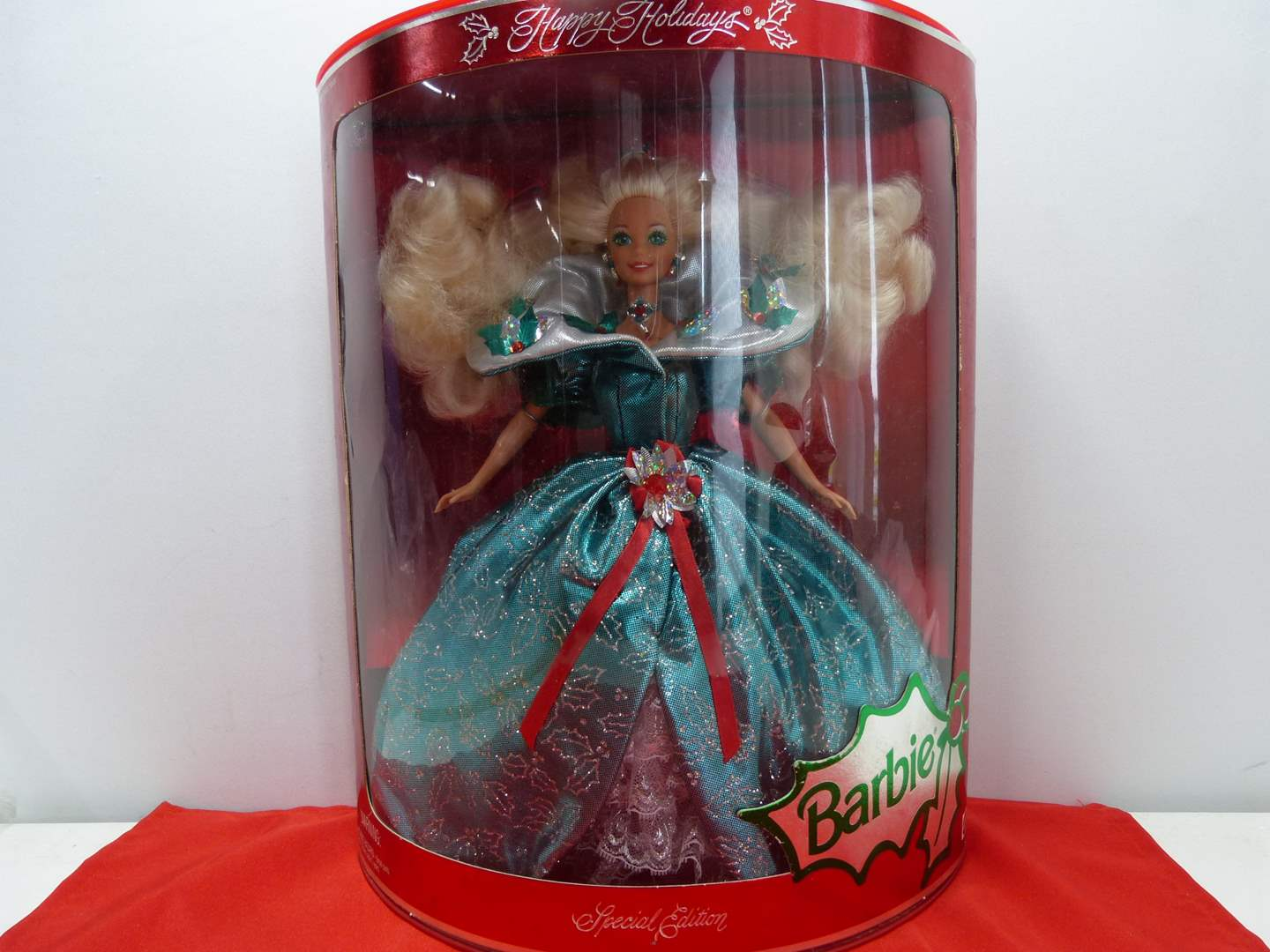 Lot # 49  Holiday Barbie (New in the box) (main image)