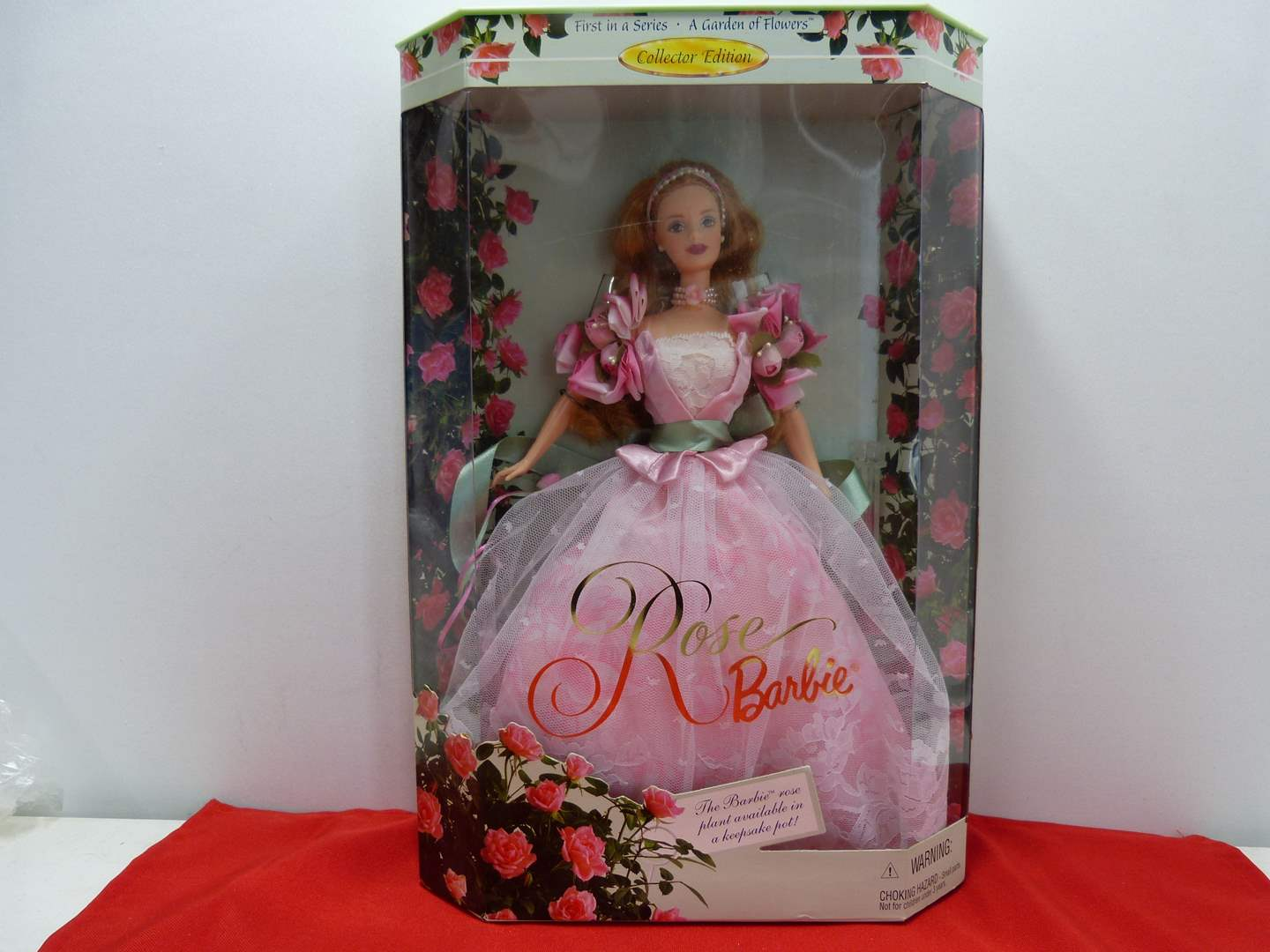Lot # 50  Specialty Barbie (new in the box) (main image)