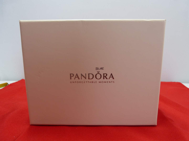 Lot # 52  Lightly used PANDORA jewelry box (main image)