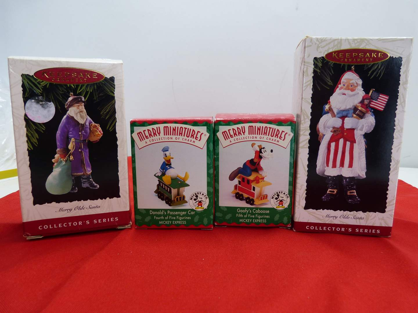 Lot # 53  Nice grouping like new Christmas ornaments to include Disney Miniatures (main image)