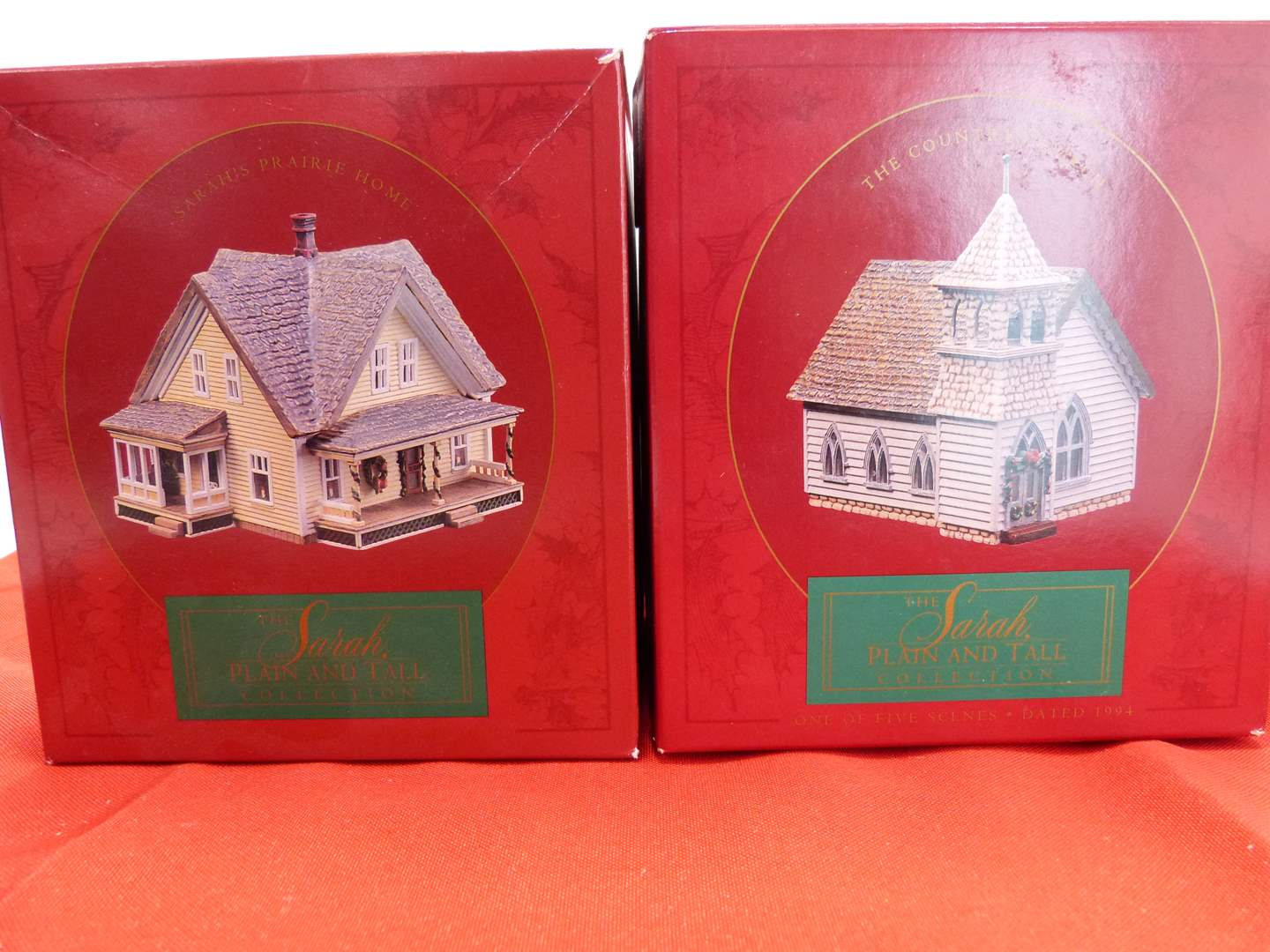 Lot # 62  2 Sara Plain and Tall Collection houses in original boxes (main image)