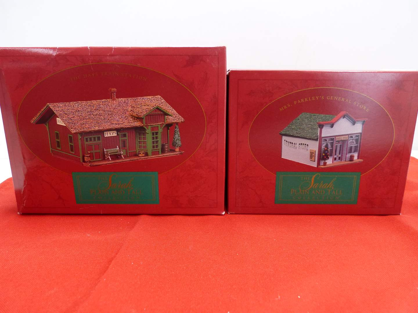 Lot # 63  2 Sara Plain and Tall Collection houses in original boxes (main image)
