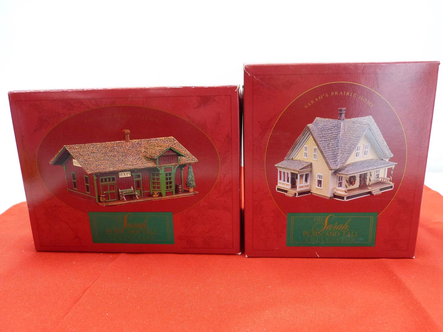 Lot # 65  2 Sara Plain and Tall Collection houses in original boxes