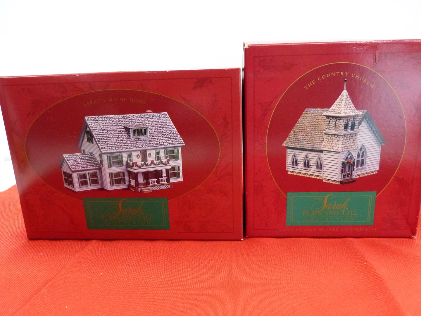 Lot # 66  2 Sara Plain and Tall Collection houses in original boxes (main image)