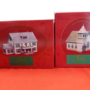 Lot # 66  2 Sara Plain and Tall Collection houses in original boxes