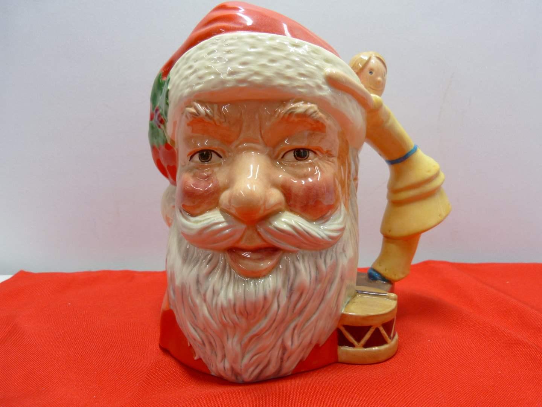"""Lot # 78  Great """"Santa Claus"""" 1981 Royal Doulton Character Jug (main image)"""