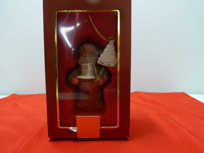 Lot # 93  Great Lenox Christmas Ornament (original box) (main image)