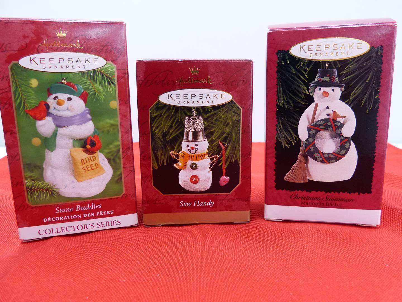 Lot # 106  3 Hallmark Keepsake Christmas ornaments  (main image)