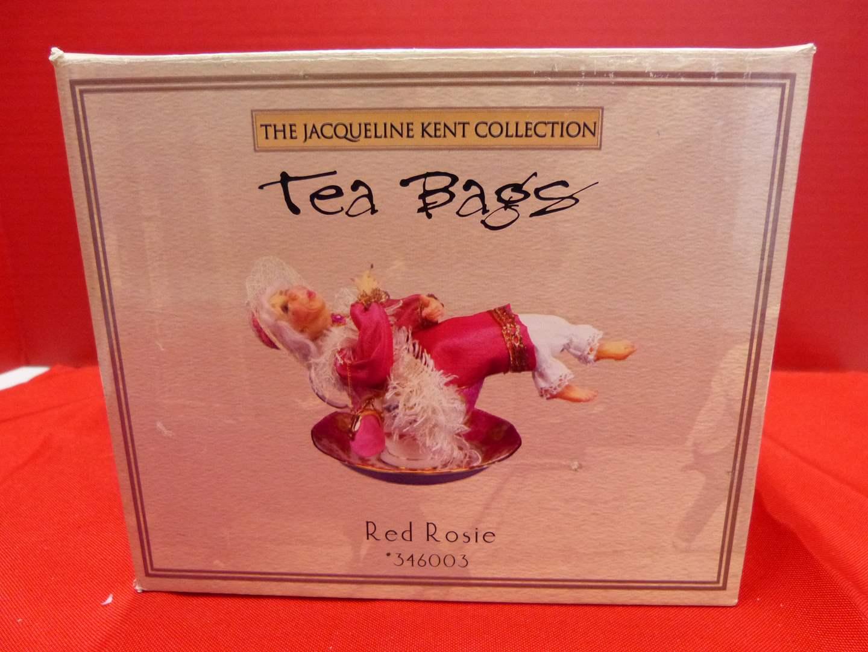 """Lot # 120  Very UNIQUE """"The Jacqueline Kent Collection"""" Tea Bags  (main image)"""